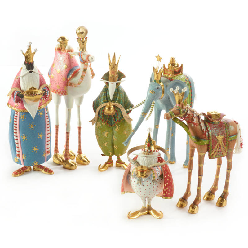 "Ludibrium-Krinkles - Nativity Mini Figuren - drei Könige Tier ""Pferd Golda"""