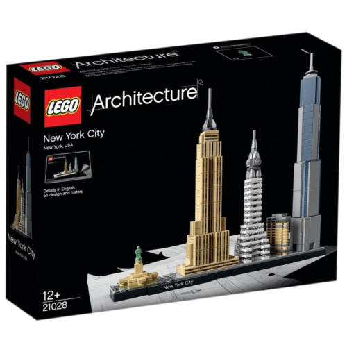 Ludibrium-LEGO Architecture 21028 - New York City