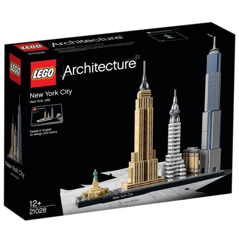 Ludibrium-LEGO Architecture 21028 - New York City - Klemmbausteine