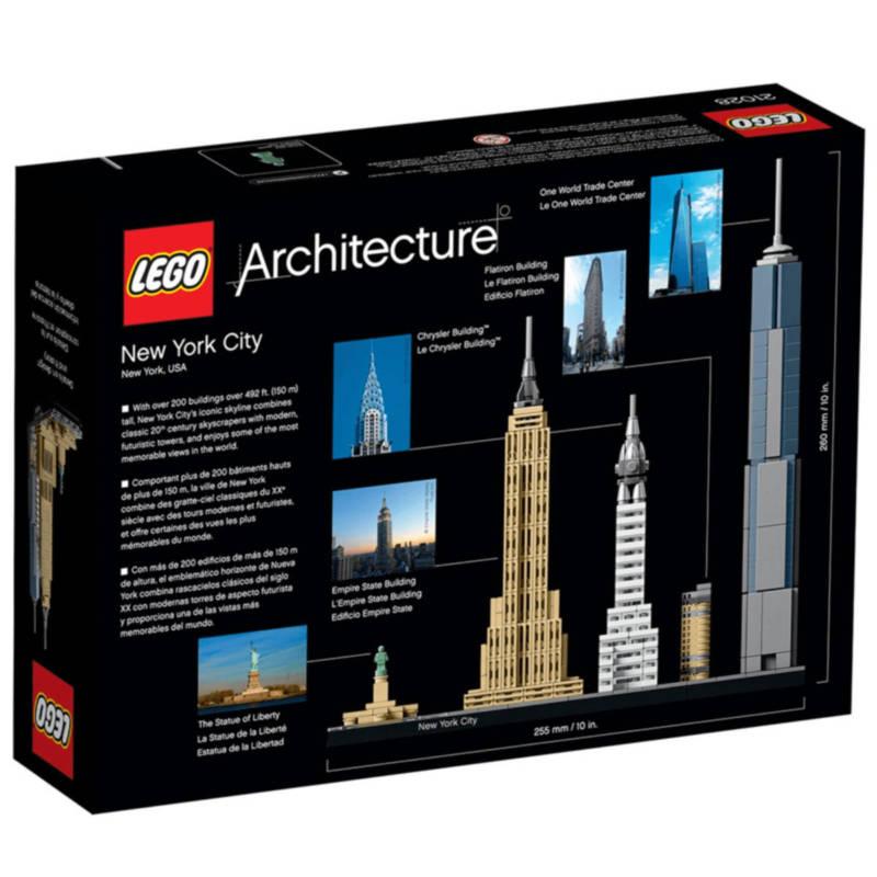 Ludibrium-LEGO Architecture 21028 - New York City