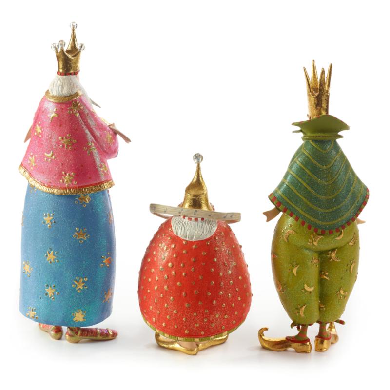 Ludibrium-Krinkles - Nativity Figuren - die heiligen drei Könige