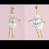 Ludibrium-Krinkles - Mr und Mrs Snowman Ornament