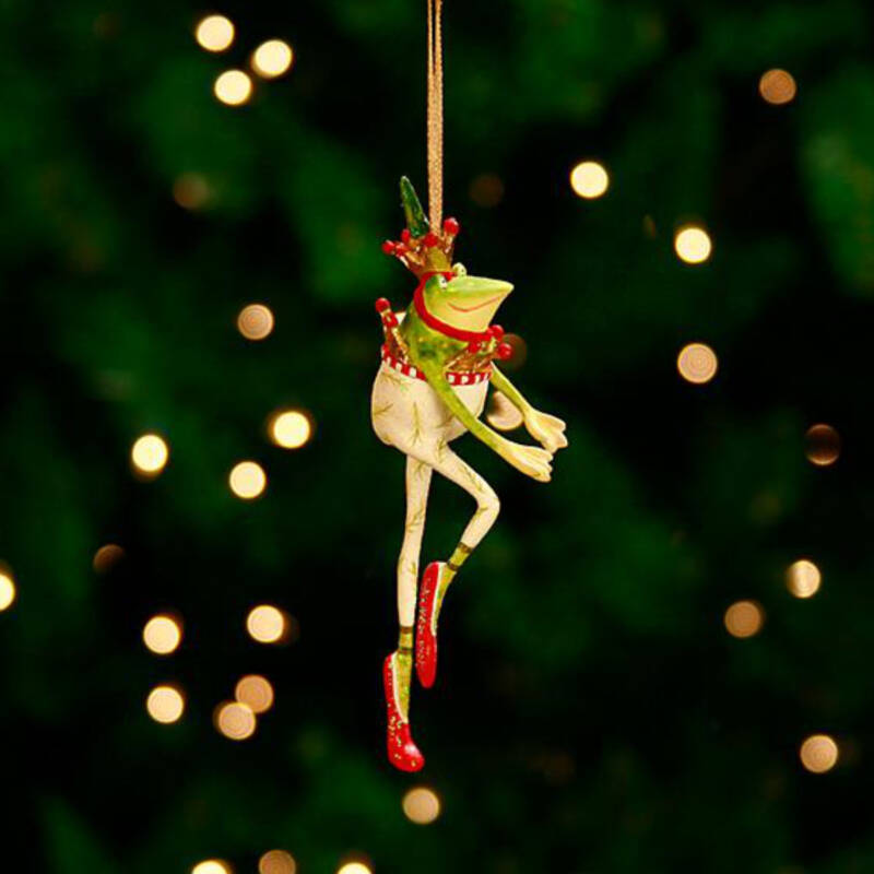 Ludibrium-Krinkles - Dancing Frog Mini Ornament