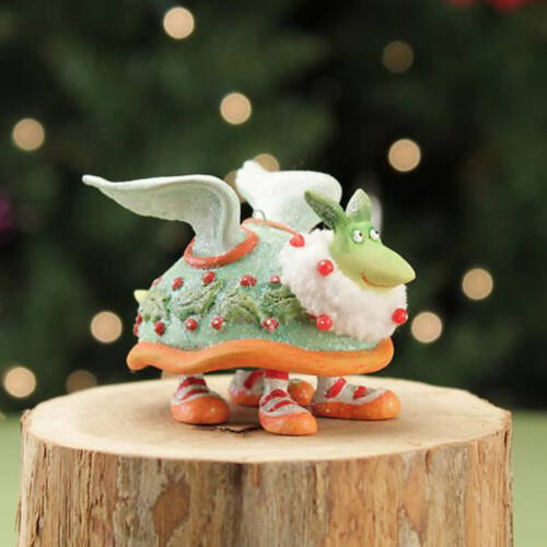 Ludibrium-Krinkles - Mini Turtle Dove Ornament