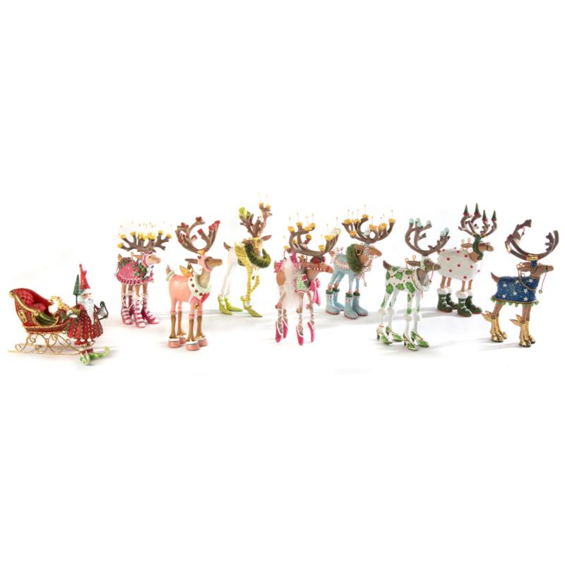 Ludibrium-Krinkles - Dash Away - Rentier Dancer Mini Ornament