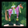 Ludibrium-Krinkles - Mini Marcel Horse Christmas Ornament