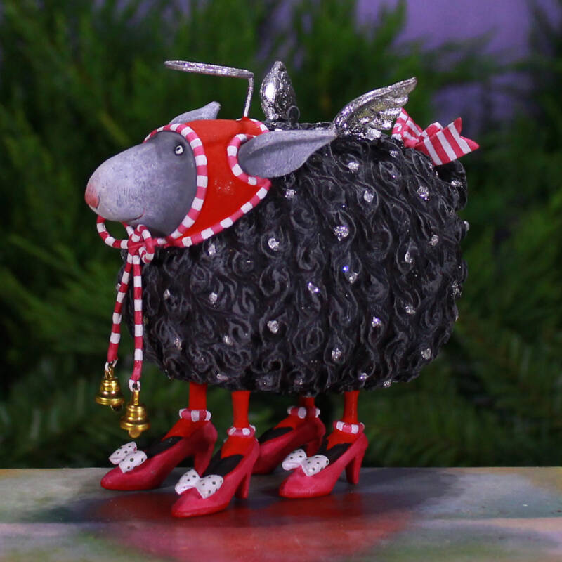 Ludibrium-Krinkles - Barbara Black Sheep Ornament