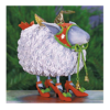 Ludibrium-Krinkles - Blanche White Sheep Ornament