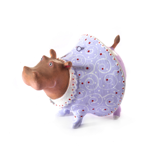 Ludibrium-Krinkles - Jambo Hippo Helen Mini Ornament
