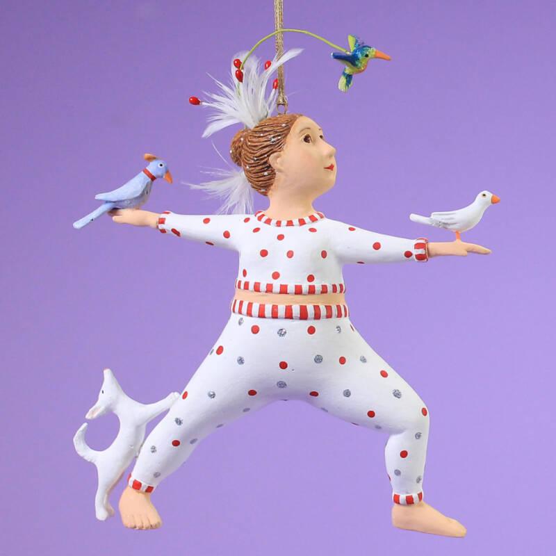 Ludibrium-Krinkles - Drishti Hannah with Humingbird Ornament