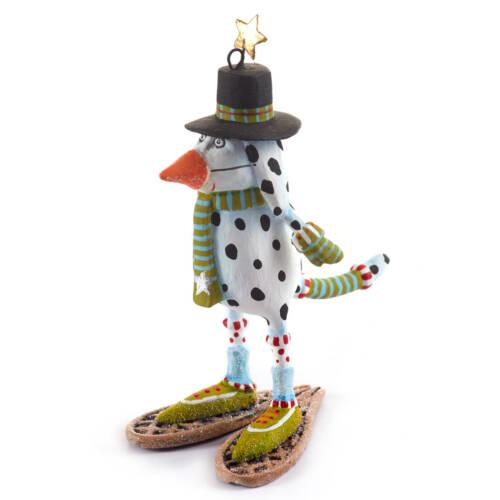 Ludibrium-Krinkles - Mini Andrew Snow Dog Ornament