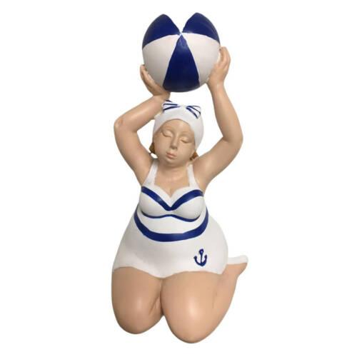 "Ludibrium-Figur ""Franzi"" kniend mit Ball"