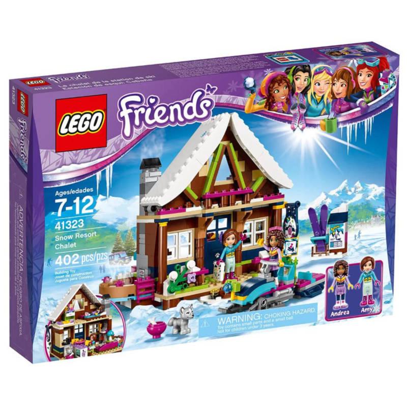Ludibrium-LEGO® Friends 41323 - Chalet im Wintersportort