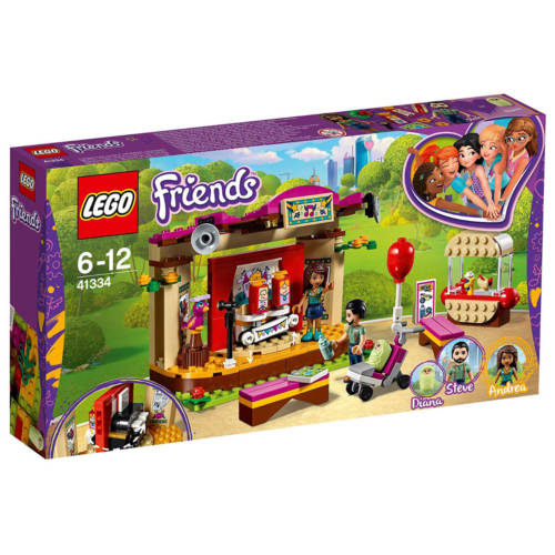 Ludibrium-LEGO Friends 41334 - Andreas Bühne im Park - Klemmbausteine
