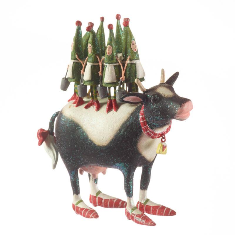 Ludibrium-Krinkles - 12 Days 8 Maids a Milking Ornament