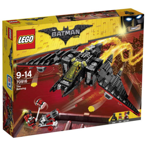 Ludibrium-LEGO Batman Movie 70916 - Batwing - Klemmbausteine