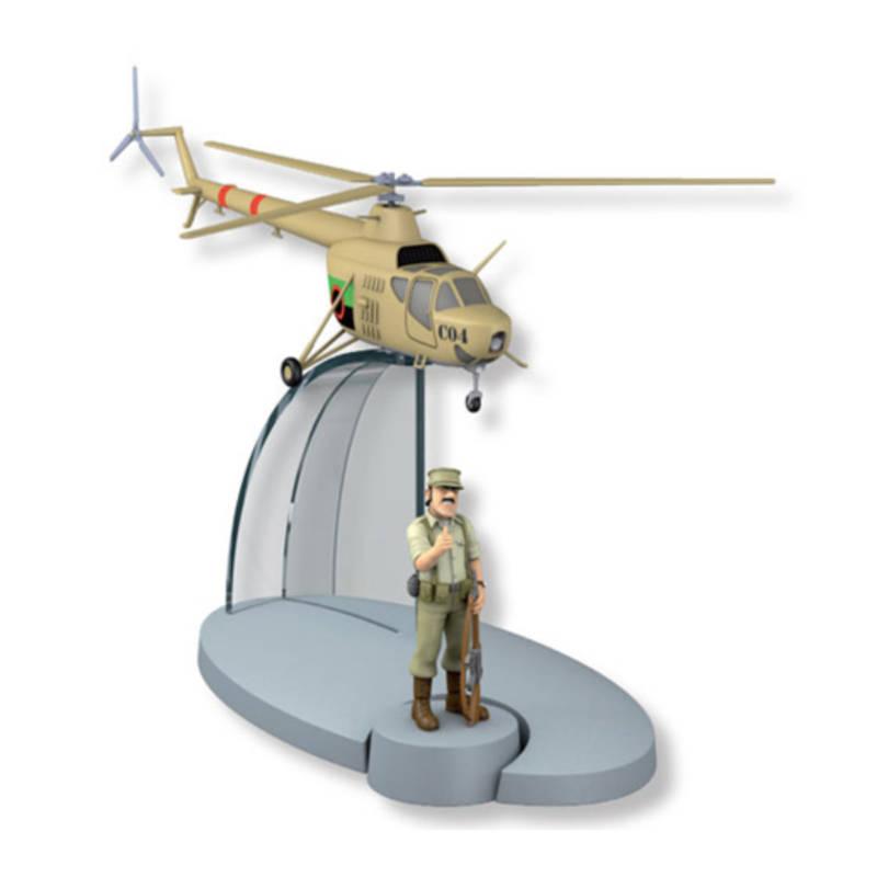 San Theodoros Armeehubschrauber / Hélicoptère armée du San Theodoros