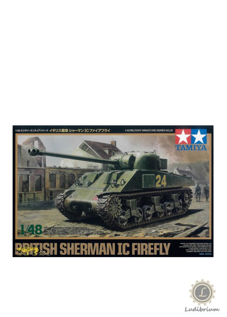 Tamiya - Panzer British Sherman Mk.Ic Firefly 1944, 1:48