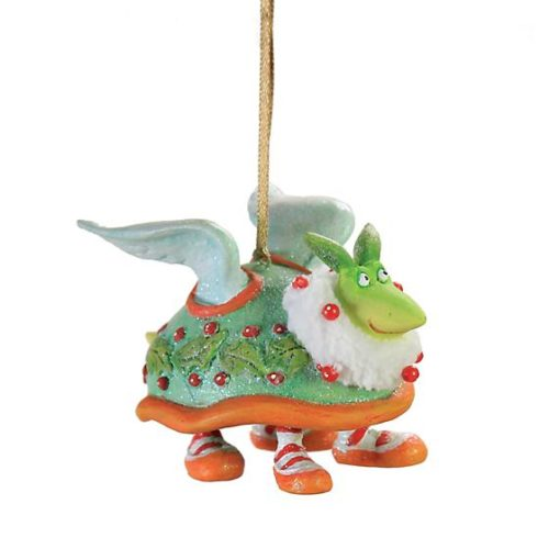 Krinkles - 12 Days - Day 2 Mini Turtle Dove Christmas Ornament