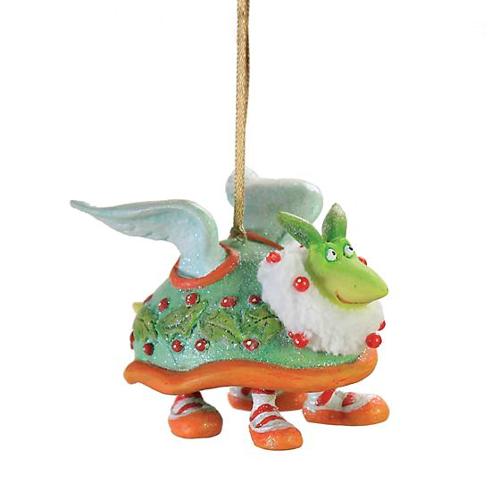 Krinkles -12 Days - Day 2 Mini Turtle Dove Christmas Ornament