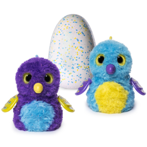 Spinmaster - Hatchimals - Surprise Purple Teal Egg - Twins Set