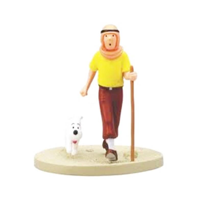 "Szene ""Tim als Orientale"" - ""Tintin dans le désert"""