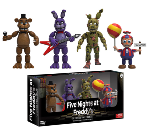 Five Nights at Freddy's - Actionfiguren 4-er Pack