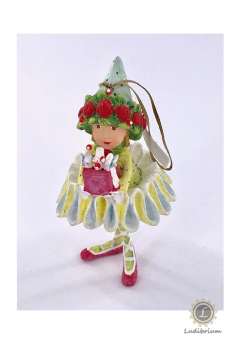 Krinkles - Dancer's Gift Elf Ornament