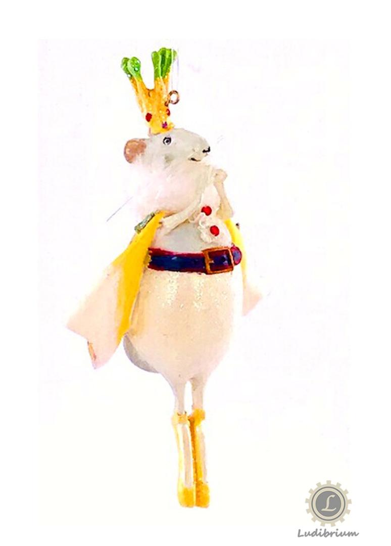 Krinkles - Maus King Ornament