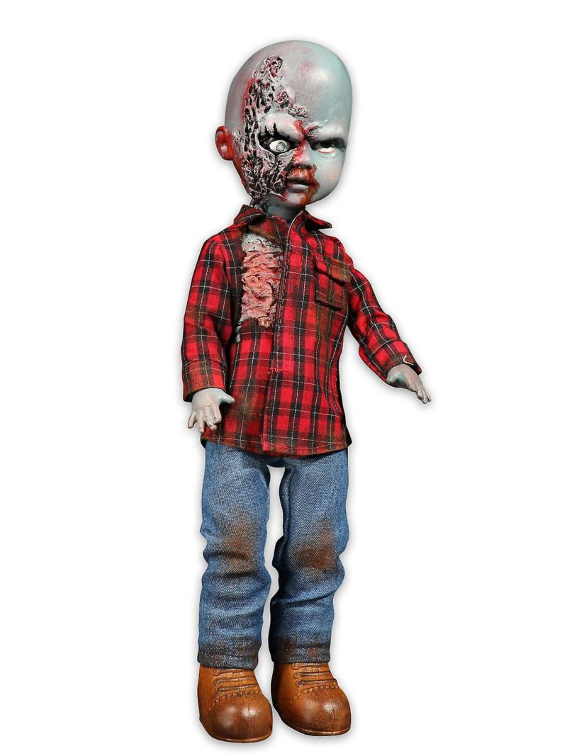 "Living Dead Dolls - Plaid Shirt Zombie ""Dawn of the Dead"""