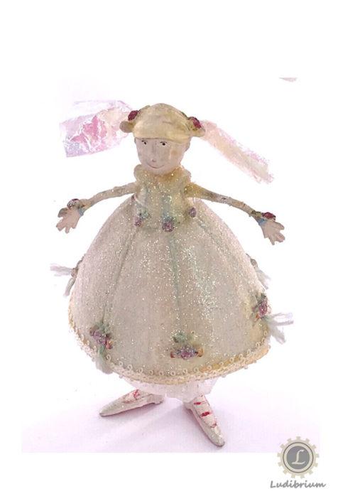 Krinkles - Polichenelle Girl Ornament