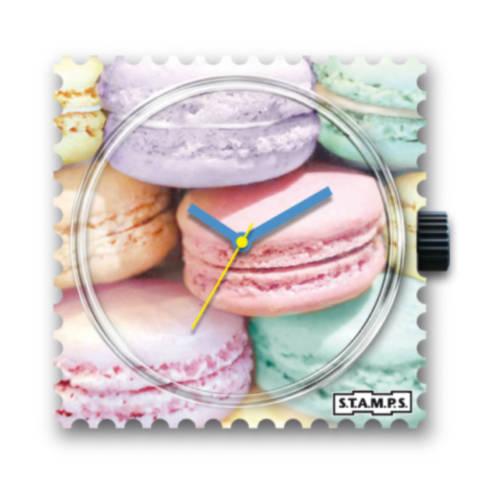 S.T.A.M.P.S. - Uhrenmotiv Macarons