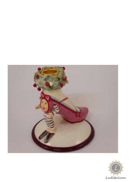 Krinkles - Schuh - Kerzenständer