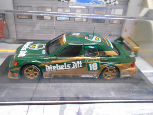 Paul's Model Art Minichamps - Mercedes 190E 2.5-16 EVO2 Dekra 18 Thiim, 1:64