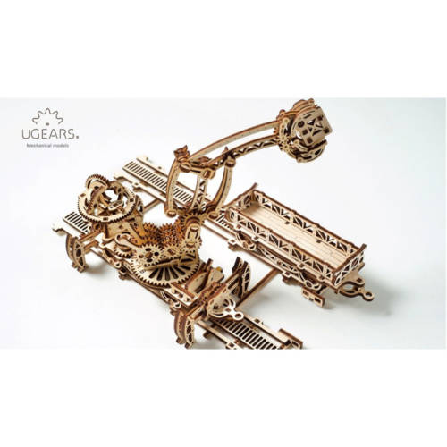"UGEARS 70032 - Modell ""Rail Mounted Manipulator"""