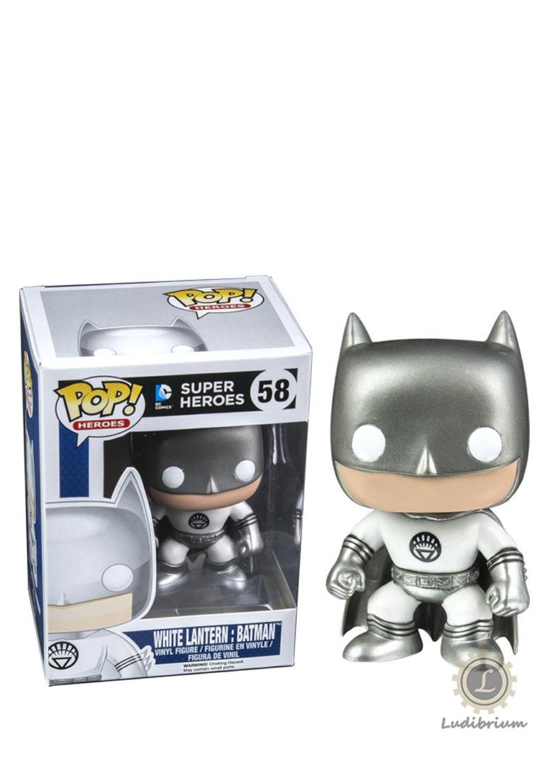 DC Comics - POP! Heroes Vinyl Figur White Lantern Batman