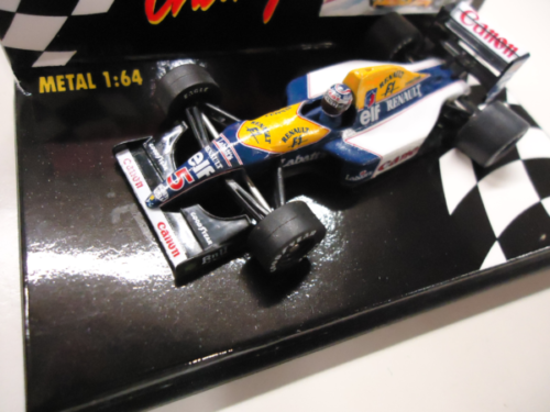 Paul's Model Art Minichamps - Renault FW15 Nr. 5 Mansell - Williams, 1:64
