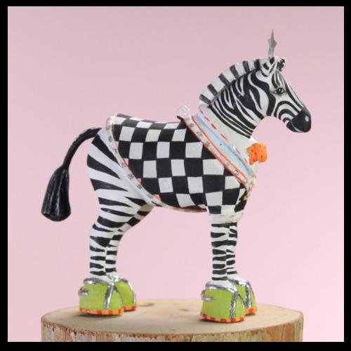 Ludibrium-Krinkles - Mini Zeke Zebra - Jambo Kollektion