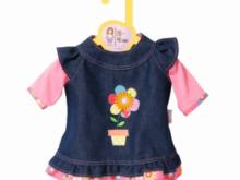 Zapf Creation - BABY born - Dolly Moda Jeanskleid