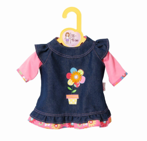 Zapf Creation - BABY born - Dolly Moda Jeanskleid