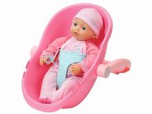 BABY born - Puppe Supersoft im Komfortsitz