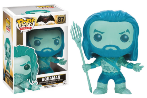 Batman v Superman - POP Heroes Vinyl Figur Blue Aquaman