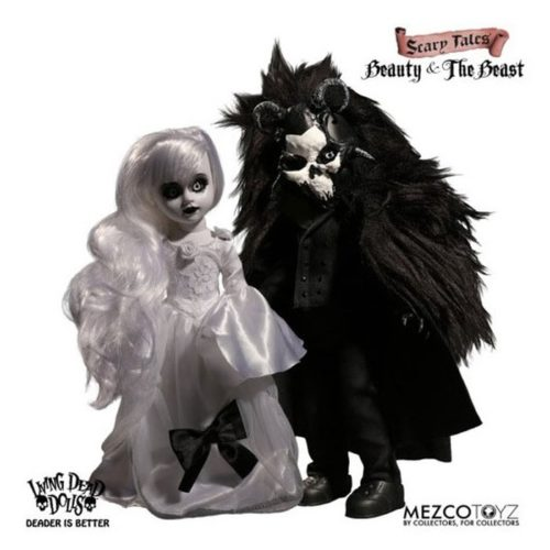 "Living Dead Dolls - Scary Tales Puppen Set ""Beauty and the Beast"""