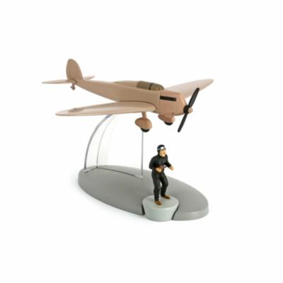 Beiges Fälscherflugzeug / Avion beige faux-monnayeurs de l'île noire