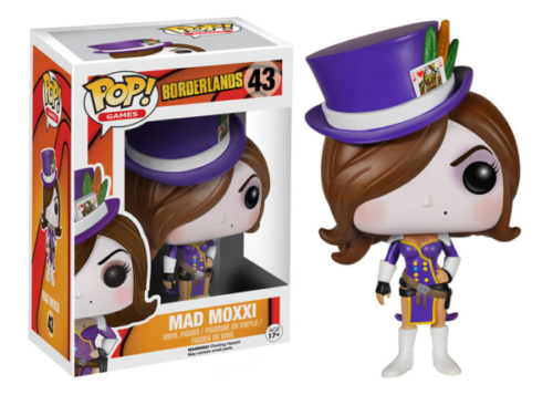 Borderlands - POP Games Figur Mad Moxxi