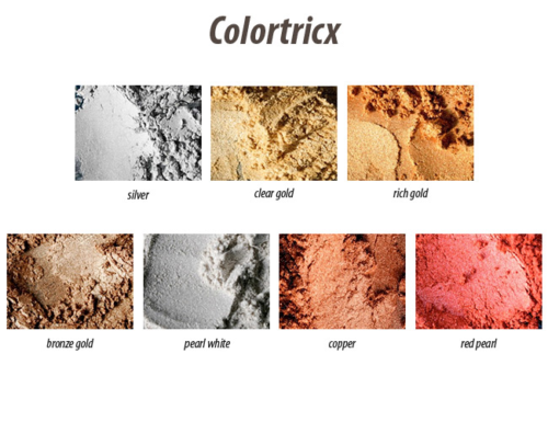 Colortricx Brons Gold -  Art.No. 0104, Dose à 40 ml
