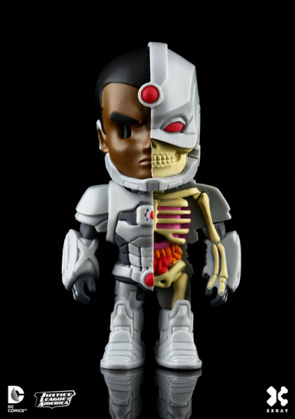 Cyborg - DC Comics XXRAY Figur Wave 2 Cyborg