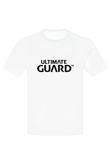 Ultimate Guard - T-Shirt Wordmark Weiss