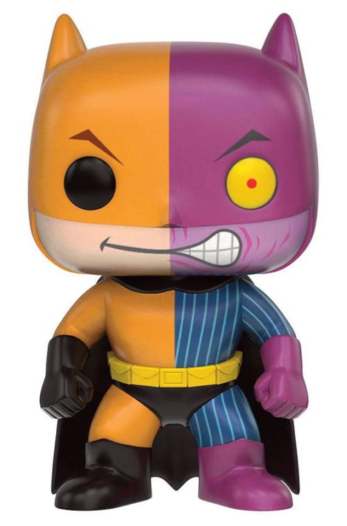 DC Comics - POP Heroes Vinyl Figur Batman as Two-Face Impopster