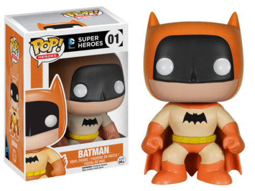 DC Comics - POP Heroes Vinyl Figur Orange Batman